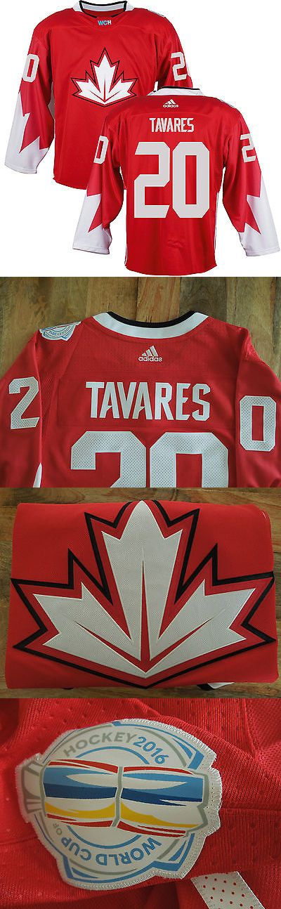 Hockey-Team Canada 2868: Team Canada John Tavares #20 New Premier Jersey Adidas 2016 World Cup Hockey Med -> BUY IT NOW ONLY: $59.99 on eBay!