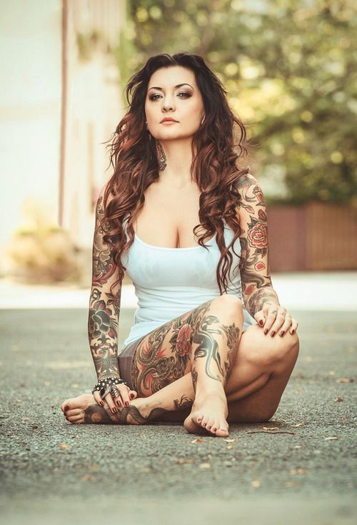 75 best 1 naked ink babes images on pinterest tattooed for Topless tattoo girls