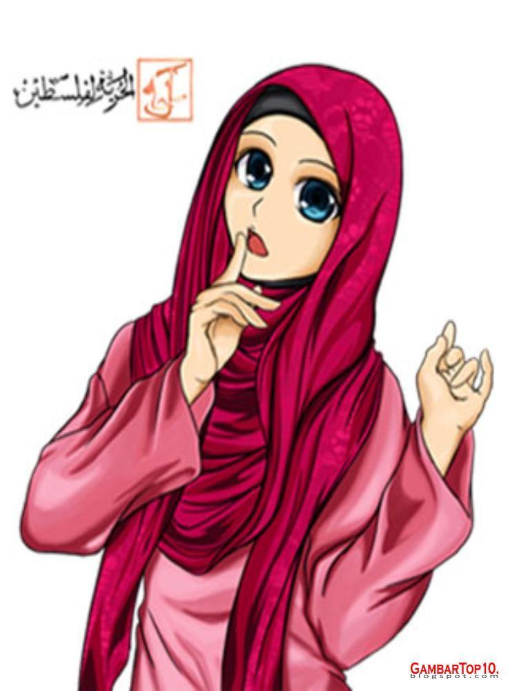 Animasi Ibu Guru Muslimah Di 2021 Kartun Hijab Gambar Kartun Animasi