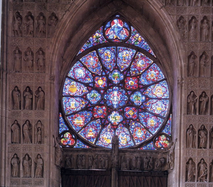 17 best images about rose window on pinterest stained for Rose window design
