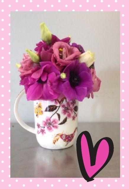 Valentijn, anemoon, cadeautje - Jeanne van Slooten