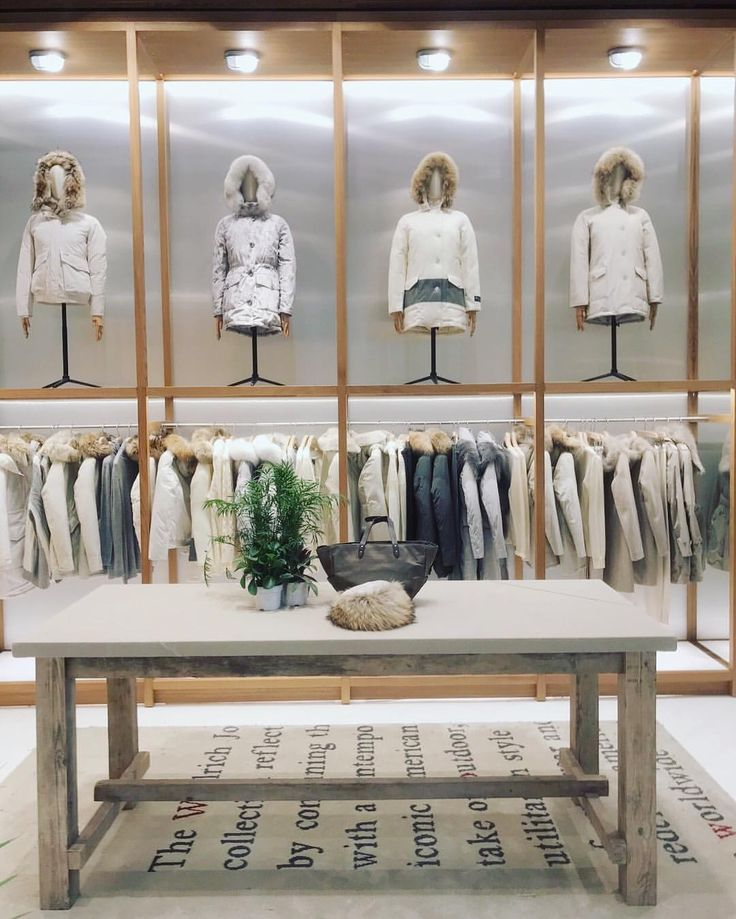 """YORKDALE SHOPPING CENTRE, Dufferin Street, Toronto, Canada, """"Winter Essentials"""", for Woolrich, pinned by Ton van der Veer"""