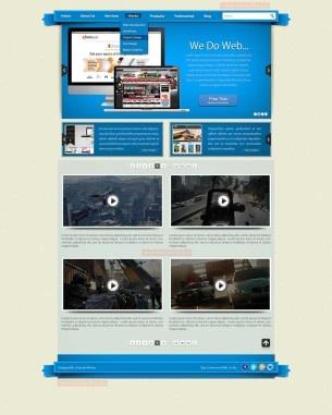 An Online Video Blog theme