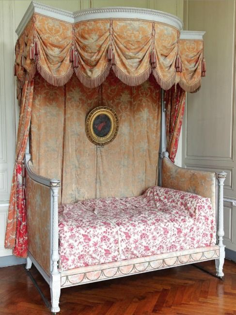 18th C French Bedroom