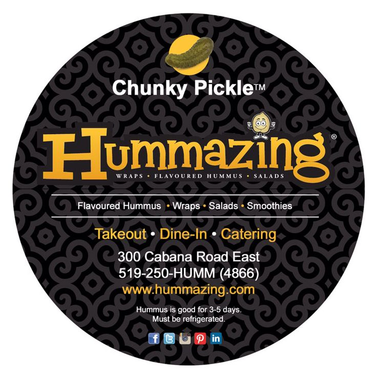 New labels are in Chunky Pickle!