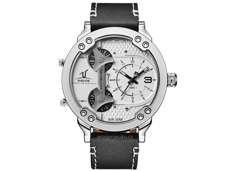 Velké a propracované, to je to, co vás na hodinkách Weide WEI1506 zaujme jako…