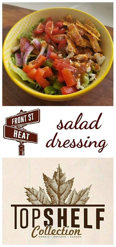 Quick and easy five minute salad dressing. Packed full of flavour and pairs with every salad. Visit us at www.topshelfcollection.com