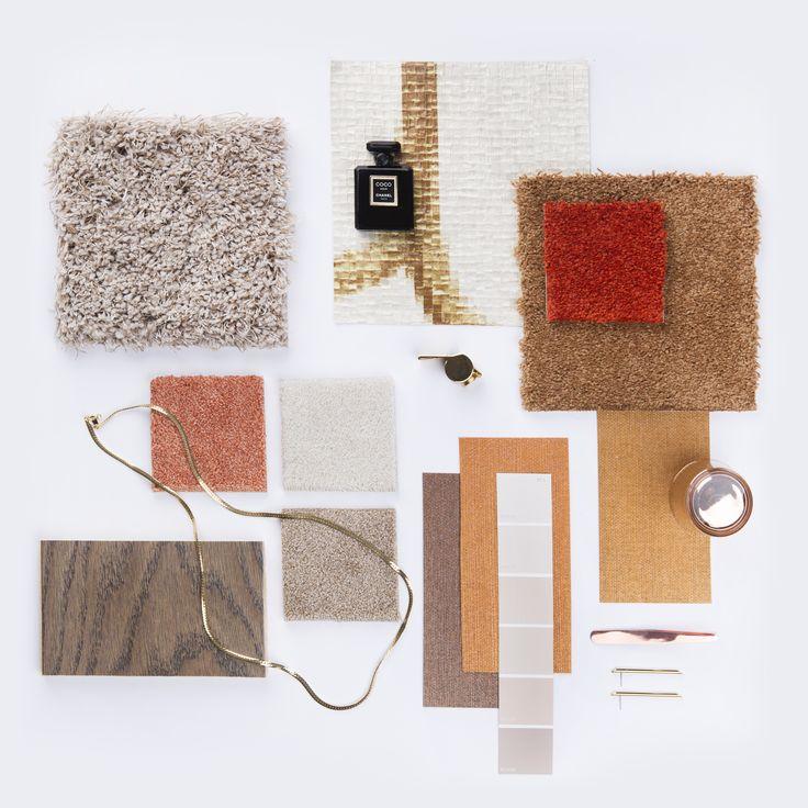 Breng luxe en elegantie in het interieur met LUXURY / #interieur #interior #moodboard #interiordesign #inspiration #colors #colours #carpet #flooring