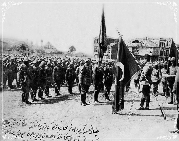 OTTOMAN ARMY AT THE BATTLE OF GALLIPOLI, 1915