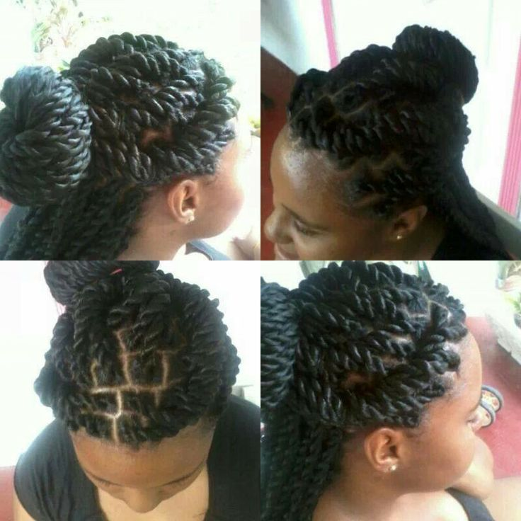 rope twists hairstyles : Rope twist B.A.P.S Hairstyles Pinterest Rope twist, Twists and ...