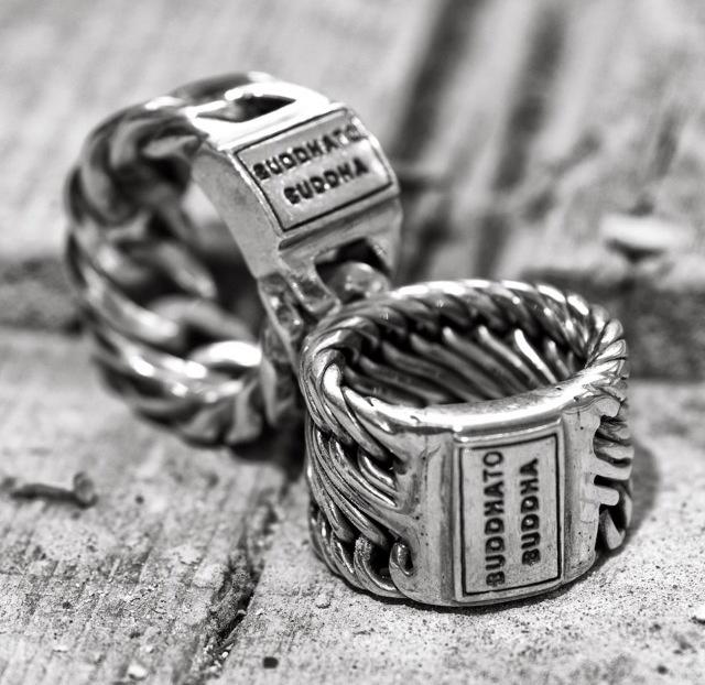 Edwin and Chain ring from Buddha to Buddha!