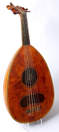 Short-necked lute ('ud), Iraq or Syria, ca. 1850-1900