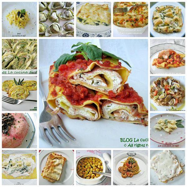 RACCOLTA RICETTE...PRIMI PIATTI Ricette di lasagne, timballi, pasticci ...