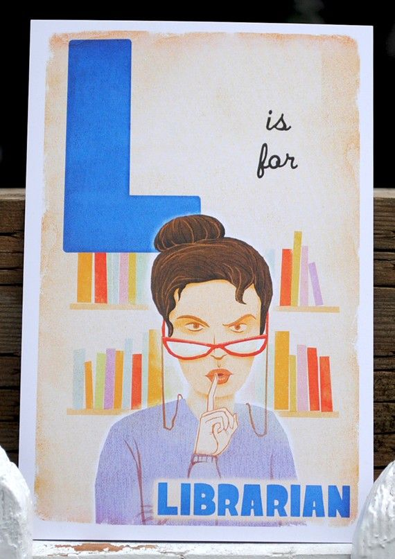 L is for librarianWorth Reading, Librarians Ideas, Librarians Stereotypes, Libraries Stuff, Libraries Funny, Libraries Lady, Book Reading Libraries, Bookshelves Libraries Nooks, Librarians Link