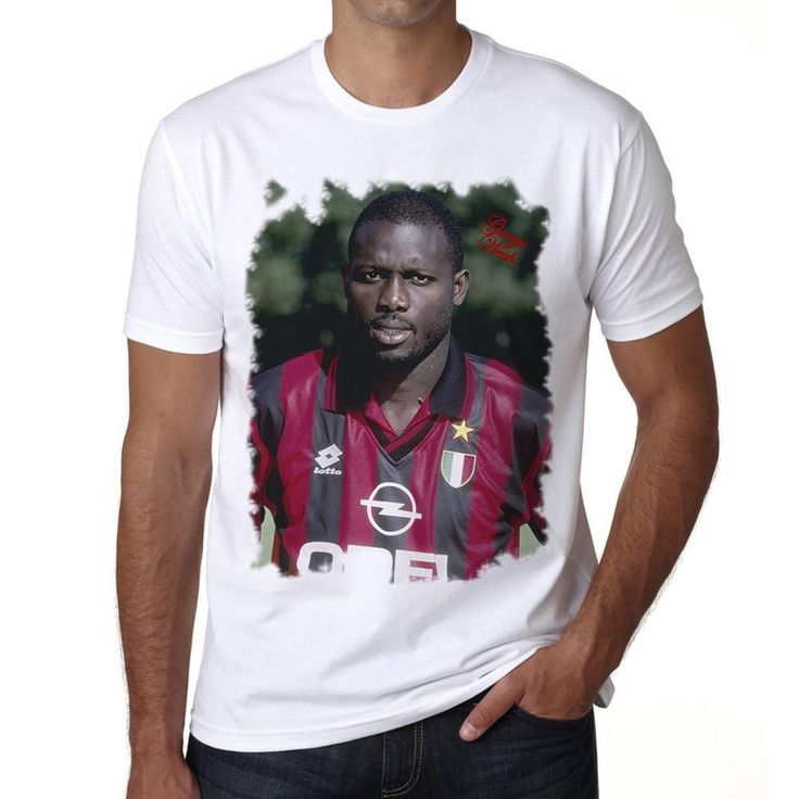 George Weah Men's T-shirt ONE IN THE CITY
