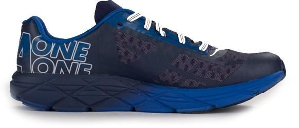 HOKA ONE ONE Men's Tracer Road-Running Shoes Medieval Blue/White 10.5