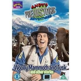 Andy's Prehistoric Adventures - Woolly Mammoth and Tusk DVD