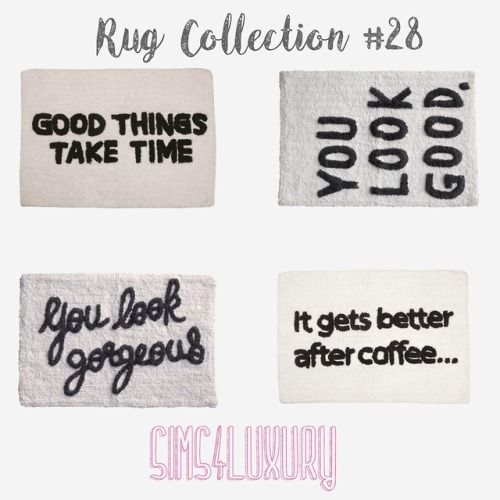 Rug Collection 28 Sims 4 Sims 4 Bedroom Sims