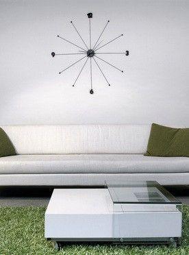 KARE Design :: Zegar Like Umbrella black Kare design :: Zegar Like Umbrella || srebrny - KARE Design 61805 | 9design Warszawa