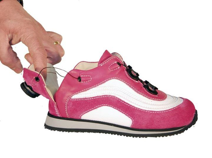 Fantastic accessibility innovation! EASY UP ~ Special Shoes for children wearing splints and AFOs. Link to the site: http://www.easyup-shoes.com/product-category/afo-shoes/