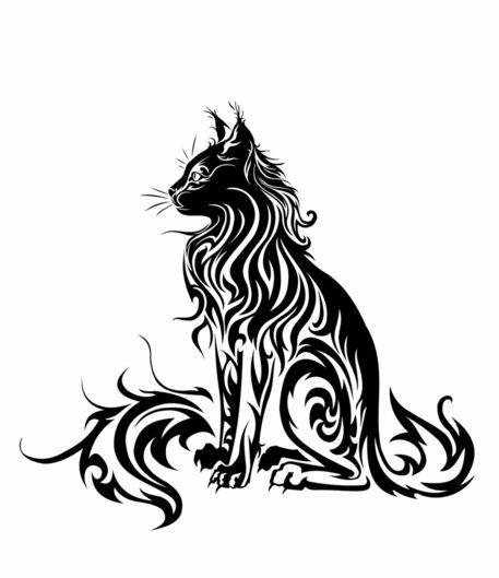 http://www3.artflakes.com/artwork/products/627467/poster/cat-tribal-ii.jpg?1315575974