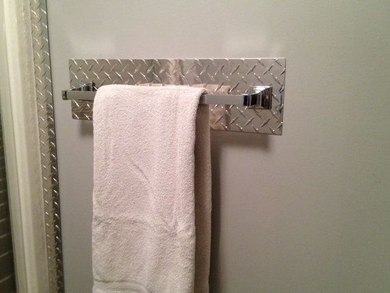22 best images about diamond plate ideas on pinterest for Garage bathroom ideas