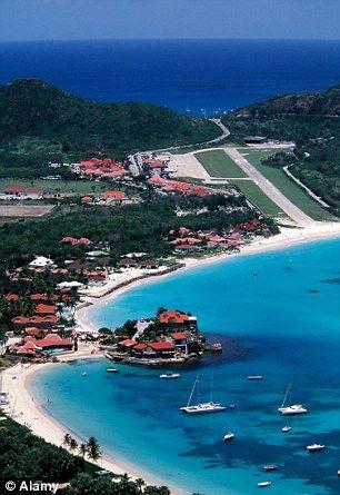 St Bart's Airport, Caribbean