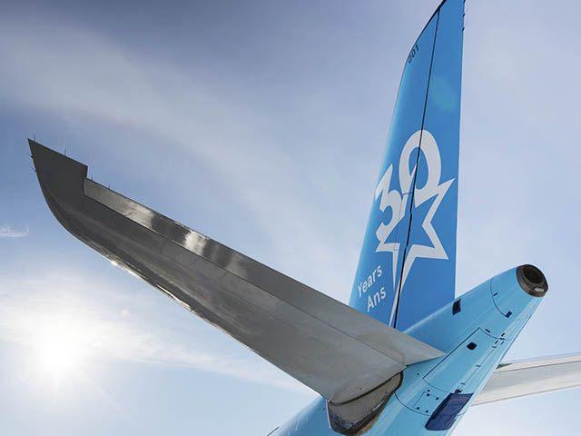 Une livrée anniversaire pour Air Transat (vidéo)