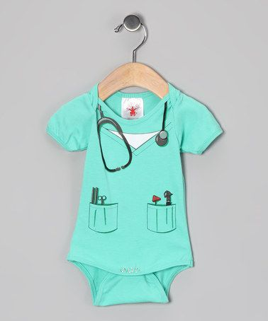 Take a look at this Teal Doctor Dress-Up Outfit - Infant by Let's Play Pretend: Kids' Apparel & Toys on #zulily today!