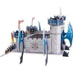 """""""Castelul Dragonului"""" Puzzle 3D"""