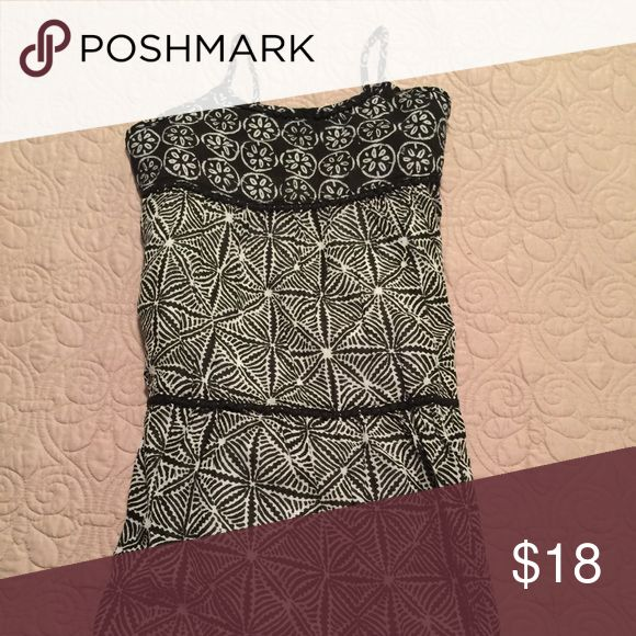 🎀GAP Kids Maxi dress XXL🎀 Black and white GAP maxi dress GAP Dresses Casual