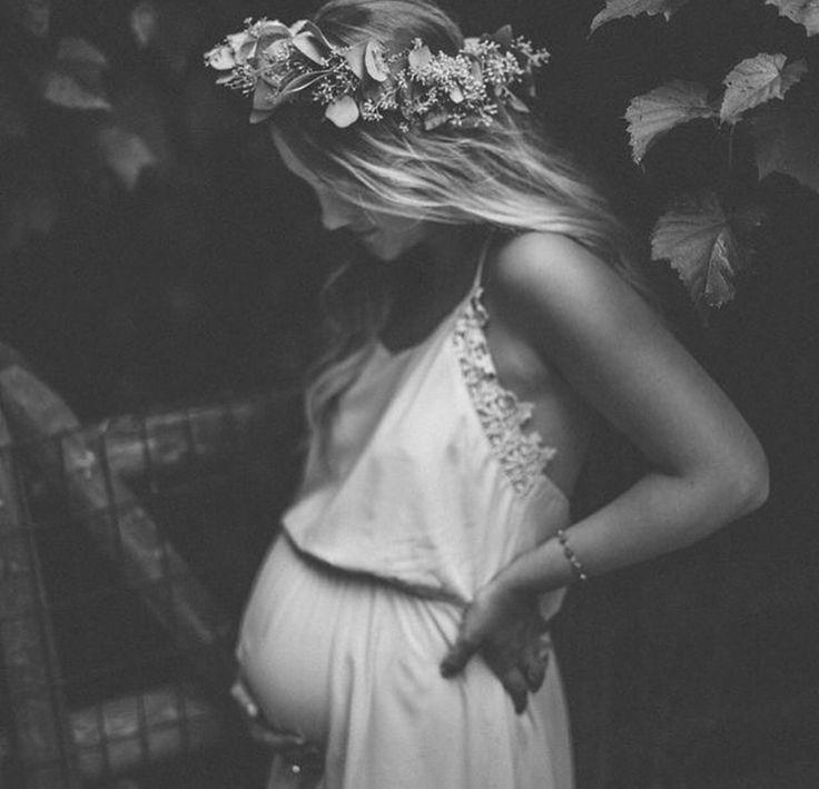 Pregnant boho