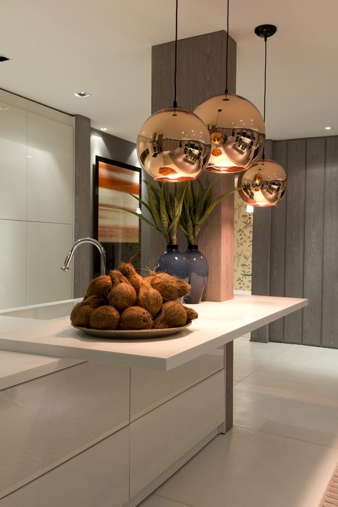 Contemporary kitchen designed by Christina Hamoui.