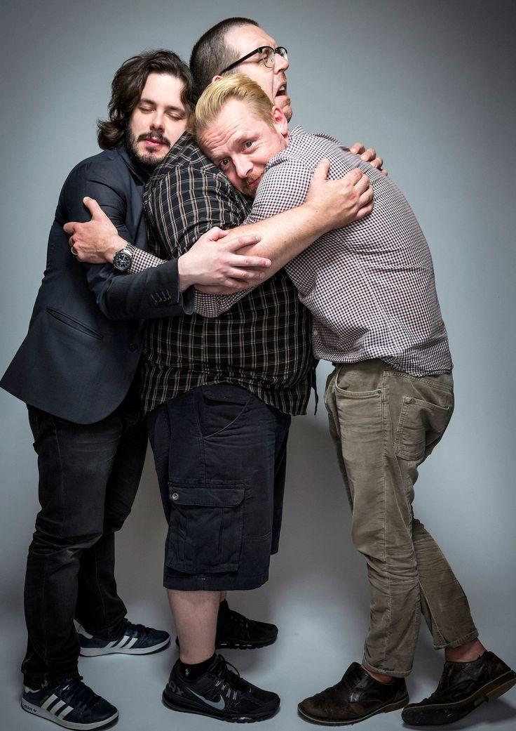 Simon Pegg, Edgar Wright, Nick Frost
