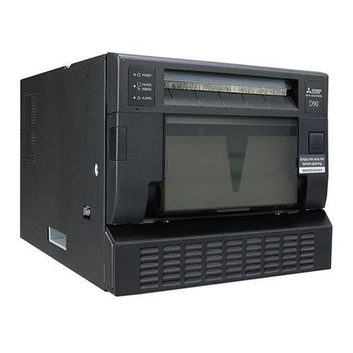 """Mitsubishi CP-D90DW Premium High Speed Dye Sublimation Thermal Transfer Digital Photo Printer, 32.2 sec at 6x8"""" Ultra Fine Mode, 300x300 dpi. Mitsubishi CP-D90DW Premium High Speed Dye Sublimation Thermal Transfer Digital Photo Printer - Paper Flange - Paper Flange Spacer - Ink Cassette - Paper Strip Bin - Paper Tray - AC Power Cord (120v) - AC Power Cord (220-240v) - CD-ROM - 2x Cable Ties - 1 Set of Securing Band/Screws/Sasher - Quick Set Up Guide - Mitsubishi Warranty. Print…"""
