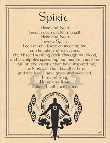 Details about Spirit Evocation Parchment Page for Book of Shadows, Altar – Witch aesthetic