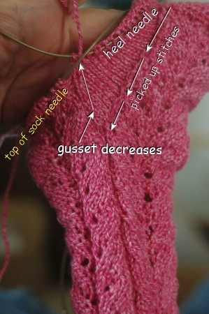 Pattern For Knitting Socks On 9 Inch Circular Needles : 17 Best images about For Me to Knit and Quilt and Stitch ...