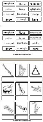 FREE Music worksheets and downloads » LessonSense.com
