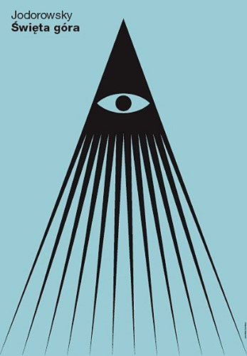 Polish film poster for Jodorowsky's 'The Holy Mountain'