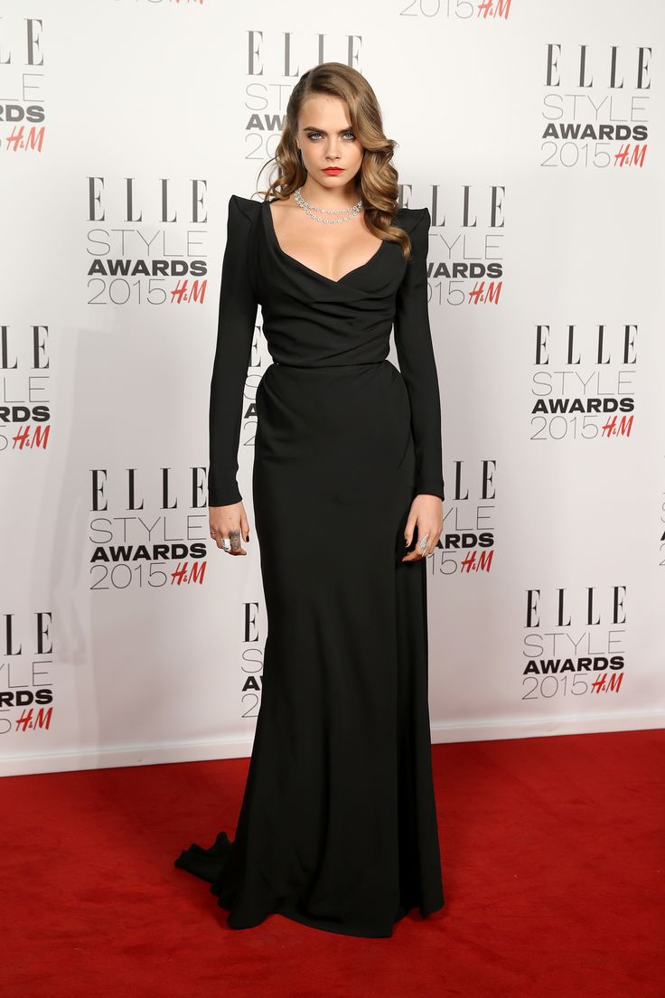 See What Taylor Swift, Cara Delevingne, and More Wore to the ELLE UK Style Awards  - ELLE.com
