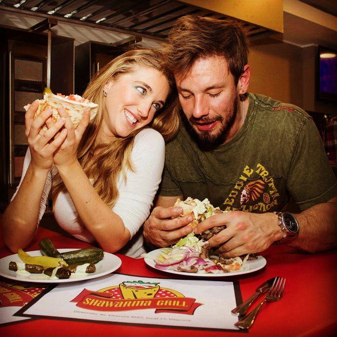 Shawarma Grill en Santiago - MENU A PRUEBA