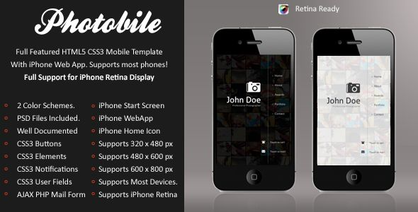 This Deals Photobile Mobile Retina | HTML5 & CSS3 And iWebAppwe are given they also recommend where is the best to buy