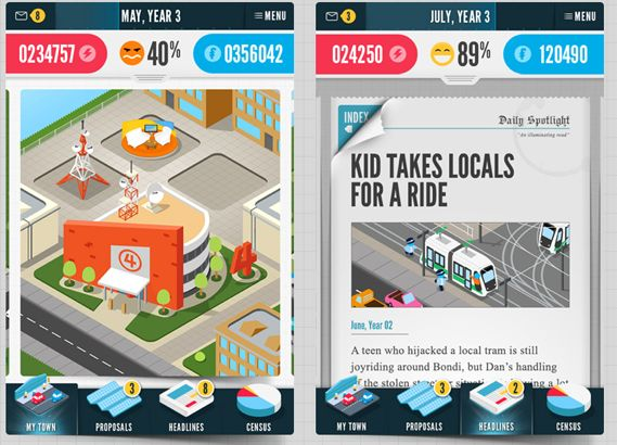 Creative Review - Leo Burnett launches strategy game using census data