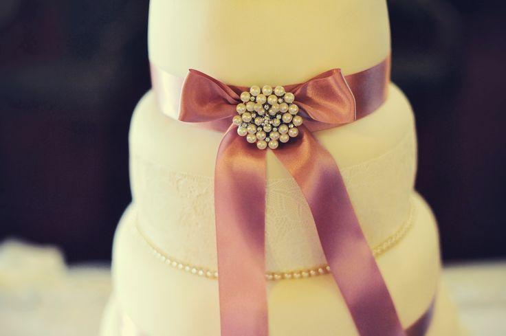 My pretty lace cake