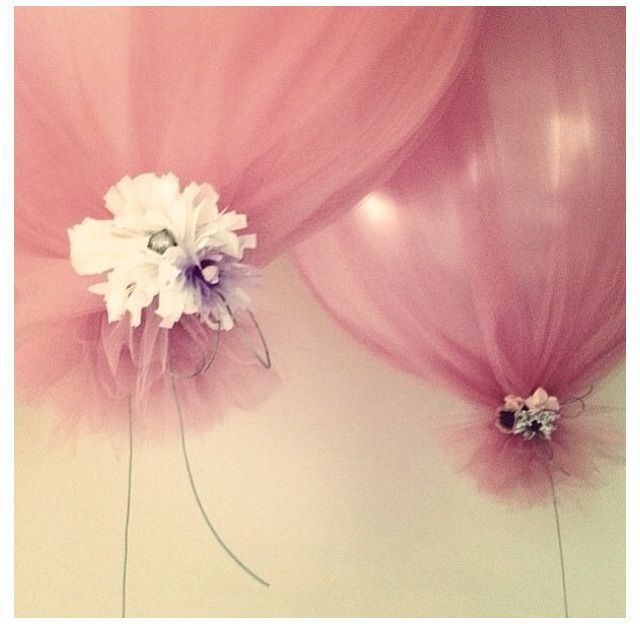 Tulle Balloons.