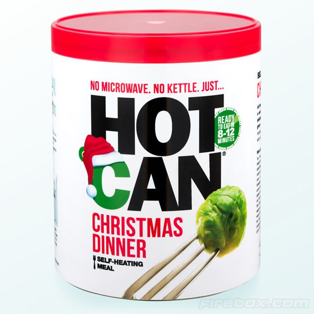 Christmas Dinner in a Self-Heating Can