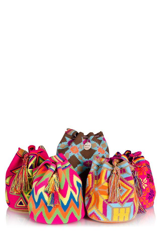 Wayuu Tasche: Crochet!