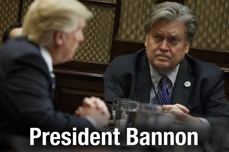 For some background, you'll remember that last week Donald Trump signed an executive order appointing Steve Bannon to the National Security Council. It was a move that granted Bannon unprecedented power for a political operative. Many across the country were furious, and cable news spent days talking about it. Well, turns out Donald Trump had no idea what he was signing.