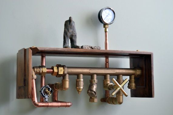 Steampunk Shelf