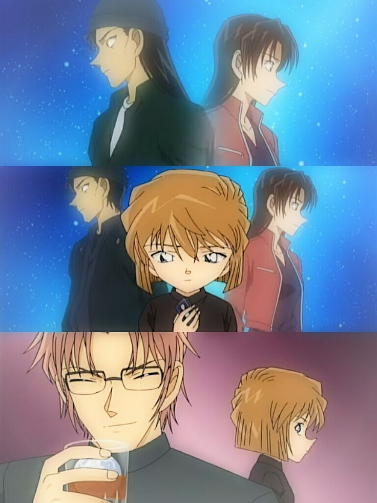 I kinda ship Shiho (Ai) with Akai...